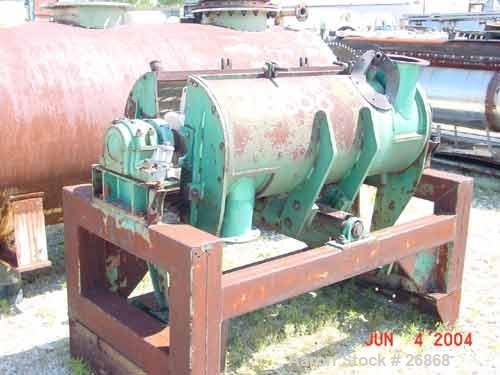"Used- Strong Scott ""Super"" Turbulizer, Model TCJH-20, Chrome. 20"" diameter x 55"" long chamber. Approximate 10"" diameter shaf..."