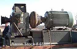 USED: New motor drive consisting of falk parallel shaft gearbox #2130y2s, service hp rating 200 hp, ratio 32.30:1, input 175...