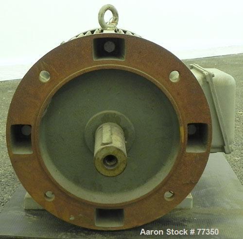 Used- AEG Motor, 18.5 kw (24 hp), 3/60/460 volt, 1770 rpm.