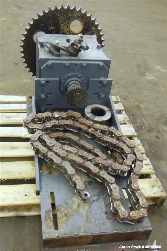 Used- Chain & Sprocket Motor & Gearbox Set