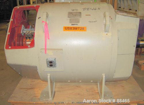 Used- General Electric 700 hp DC motor. Arm Volts: 500. Rpm: 1150/1650. Type: CD6663. Model: 5CD2GE 31G506312. Amps: 1120. F...