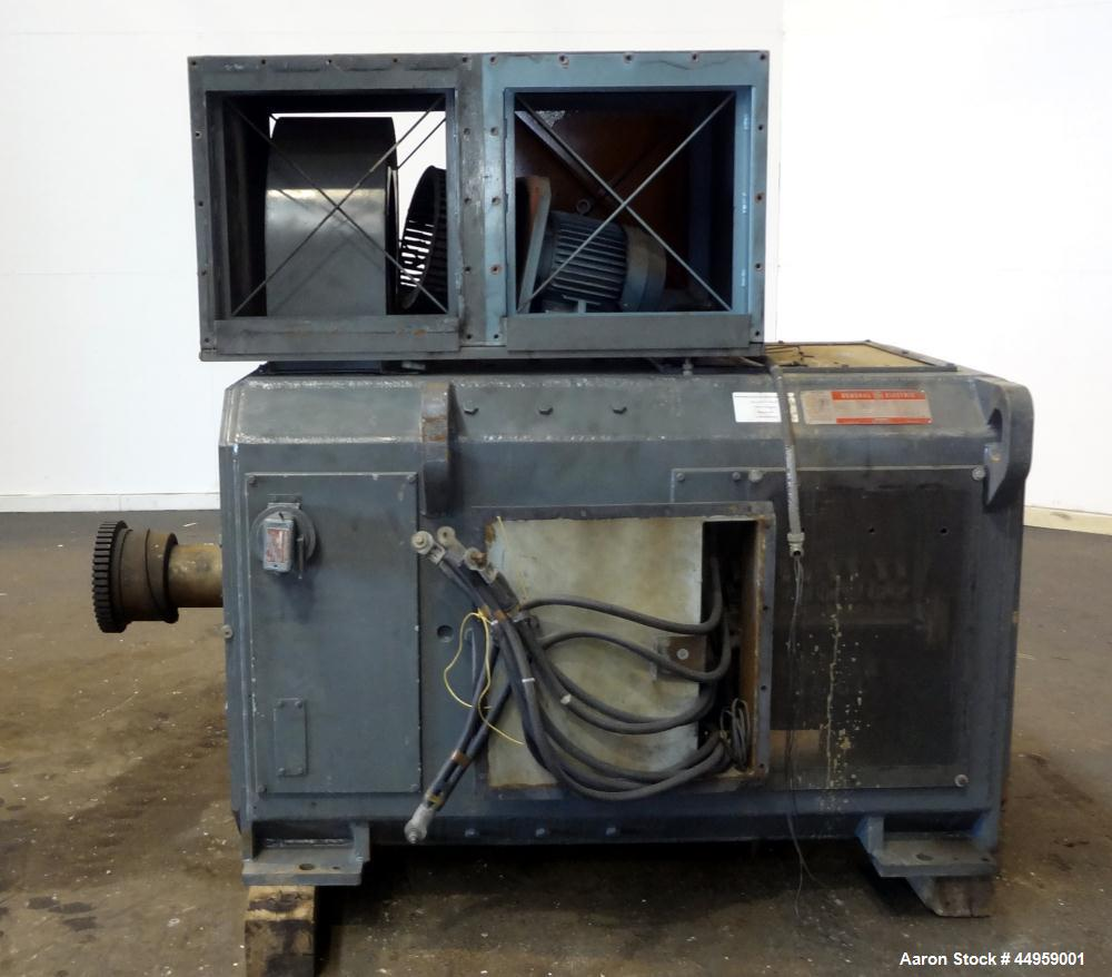 Used- General Electric Kinamatic DC Motor, 1000 hp, Model 5CD454IIA001C801, Type CD4570.  1150/1250 Rpm, 500 arm volts, 1570...