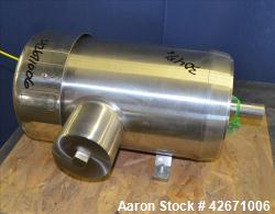 Used- Stainless Motors Inc. Pharmaceutical Stainless Steel Wash Down Series TEFC Motor, Model PH2H04T04B1T