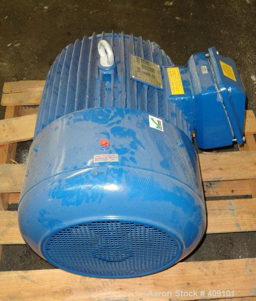 Used- Elektrim Energy Efficient Motor, Type Ste. 75hp, 3/60/230/460 volt, 1778 rpm. Frame size 365T.