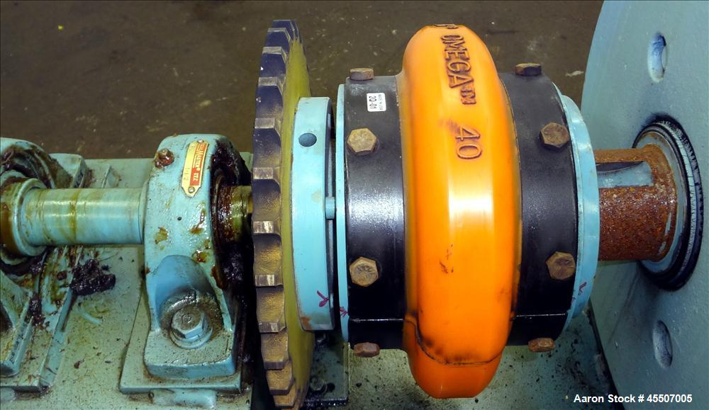 Used- Sharples Reliance DC Backdrive Motor