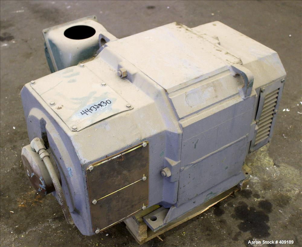 Used-Reliance DC Motor, Type TR, 150 HP. 500 Volts. 1750/2000 RPM. Frame 406AT.