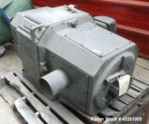 Used- Reliance 200hp DC Motor