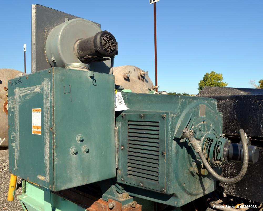 Used- Reliance Electric 500hp DC Motor. Frame B508ATZ, 500 volts, 1750/2000 rpm.