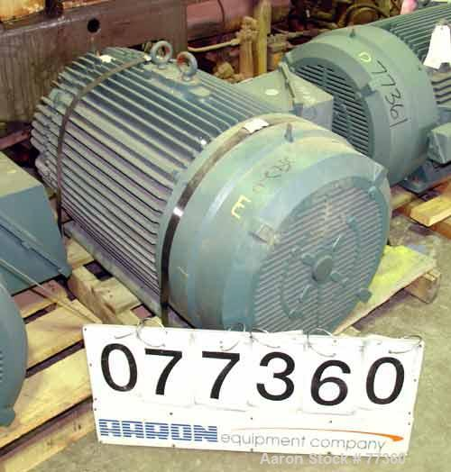 Unused- Reliance TEFC Motor