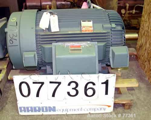Unused- Reliance TEFC Motor. 300 HP, 3/60/460 Volt, 1780 RPM. 335 Amps, continuous duty, service factor 1.15, insulation cla...