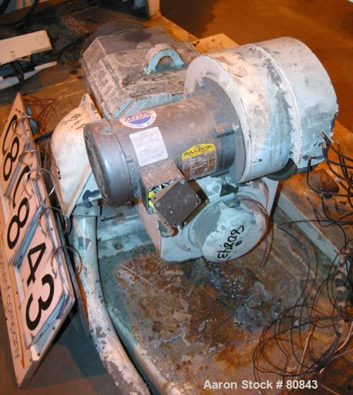 Used- Reliance DC Motor, 40 hp, 240 volt, 1750 rpm