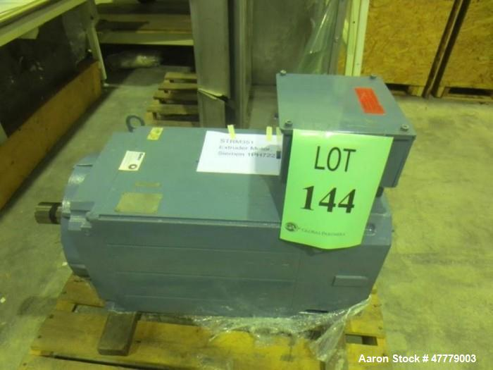 Used- Siemens 160kw AC Motor, Model 1PH722. 360 Volt AC input, 350 amps.