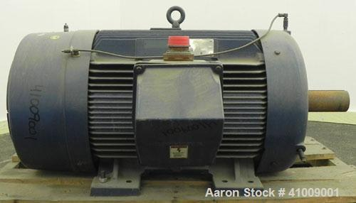 Unused- Siemens Mill and Chemical Duty Quality Induction TEFC Motor, 125 HP, 3/60/460 Volt, 885 RPM