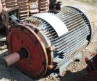 Used- Siemens-Allis Induction Centrifuge Motor, Type RGZZ. 200hp, 3/60/460 volt, 1780 rpm, frame 447T.