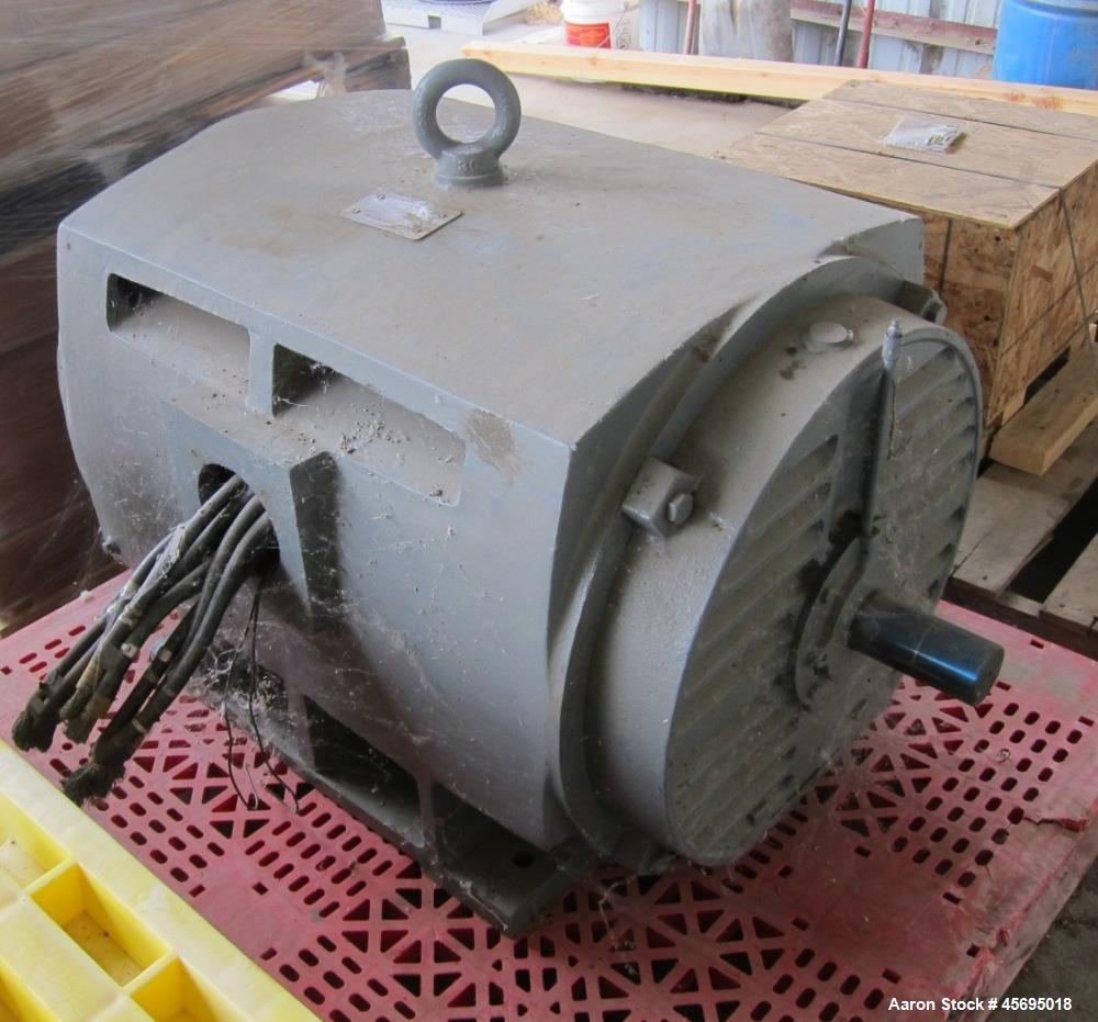 Used-Toshiba 600 HP Motor, 460 volt, 3/60.  3570 RPM.   (spare)