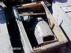 USED: Westinghouse 500 hp motor, 600 volt, 1750 rpm, 658 arm amps, 40 deg C, SH wound, 1.0 s.f., Nema code C, insulation typ...