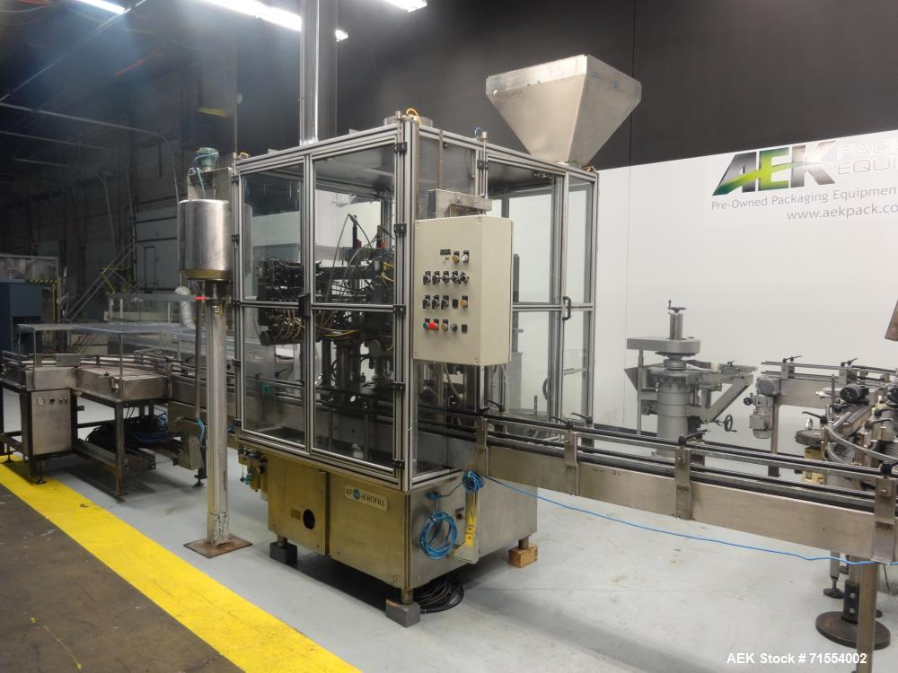 Used- Aerofil 18 Filler with integrated Aerofil PC-18 Valve Place and Crimper.