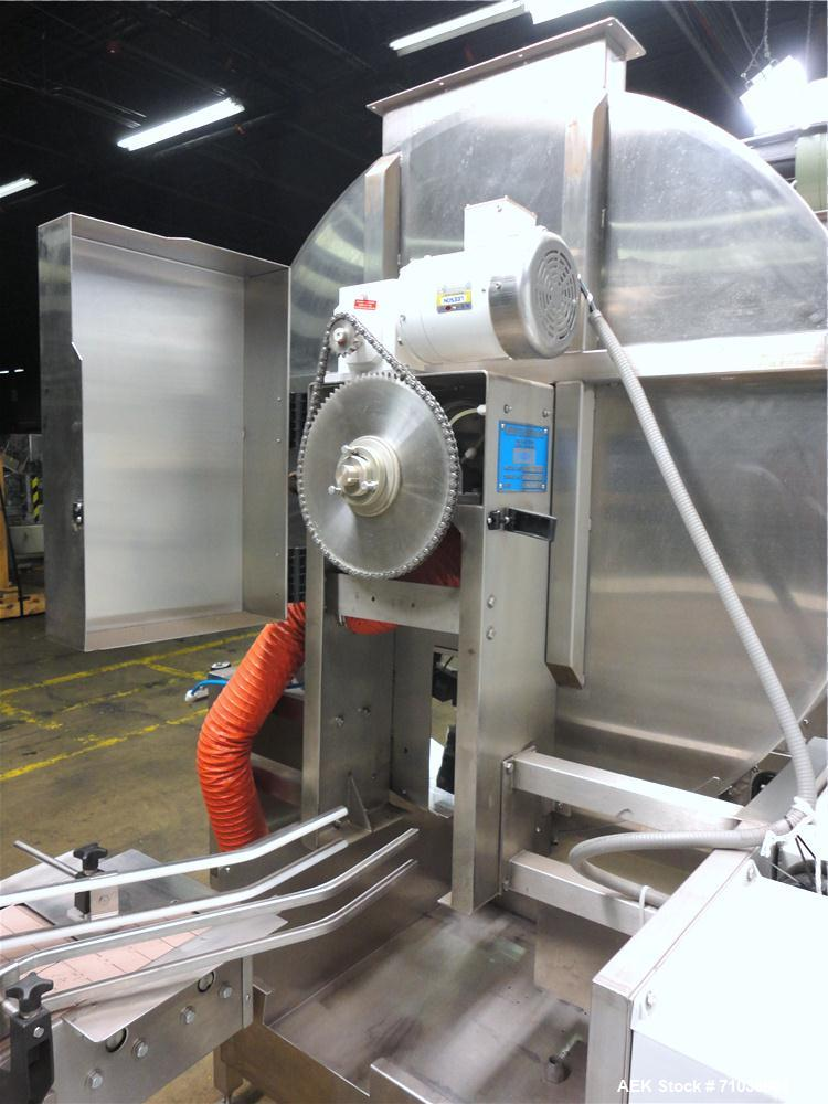 Used- Terco SLDL Aerosol Can Filling Line. Capable of speeds up to 70 cans per minute. Has Terco Can Depalletizer with singl...