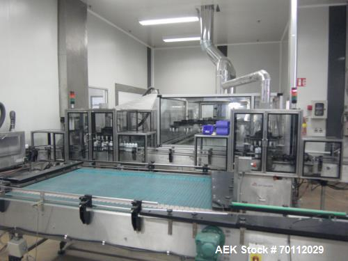 Used- Aerofil Water Bath, Model ALF 165. Stainless steel, new pumps and traction and transport system; drive chain. Mfg. 199...