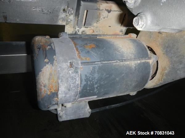 Used- Stainless Steel Ajax Bag Dump with Sieve