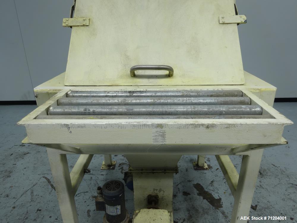 Used- Global Equipment & Mfg Model 200-FE-001 Bulk Bag Dump Station