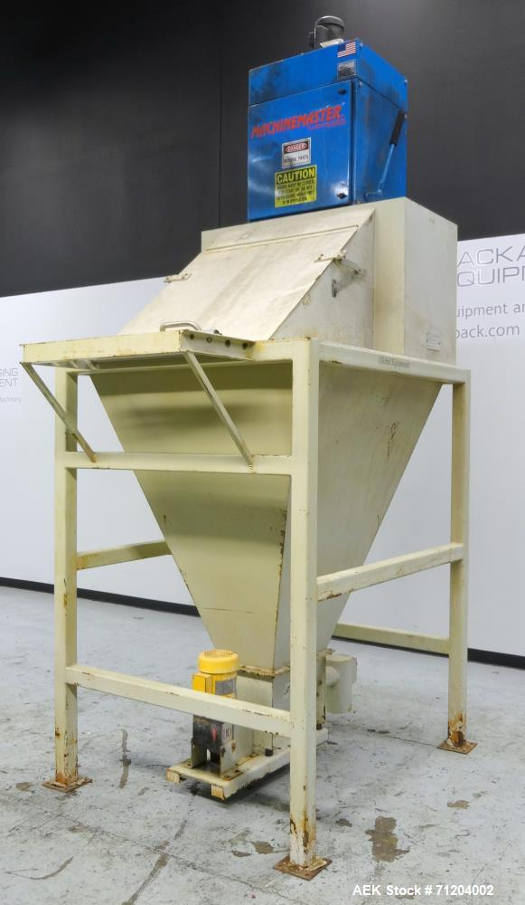 Used- Global Equipment & Mfg Model 400-FE-002 Bulk Bag Dump Station