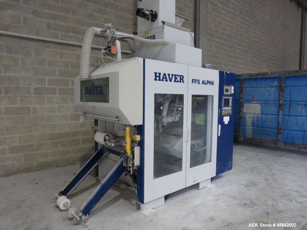 Unused- Haver Bag Filling Machine, Type FFS Alpha Brutto.