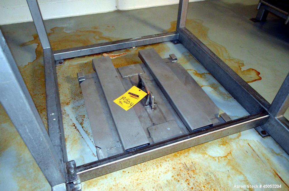 Used- Stainless Steel Super Sack Unloading Frame