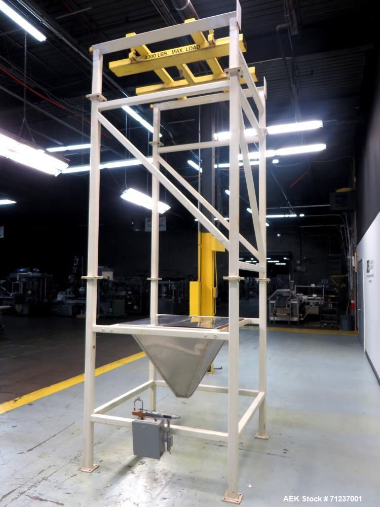 Used- Supersack Unloading System, Carbon Steel