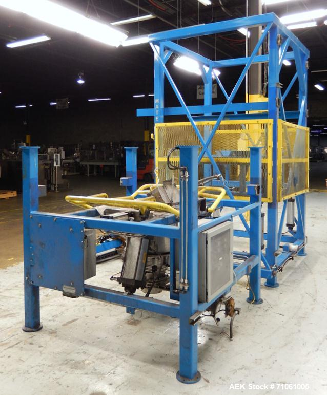 Used-Material Transfer & Storage, Inc Bulk Bag Supersack Unloader. Machine includes (1) Harrington 2-ton (4,000lb) electroni...