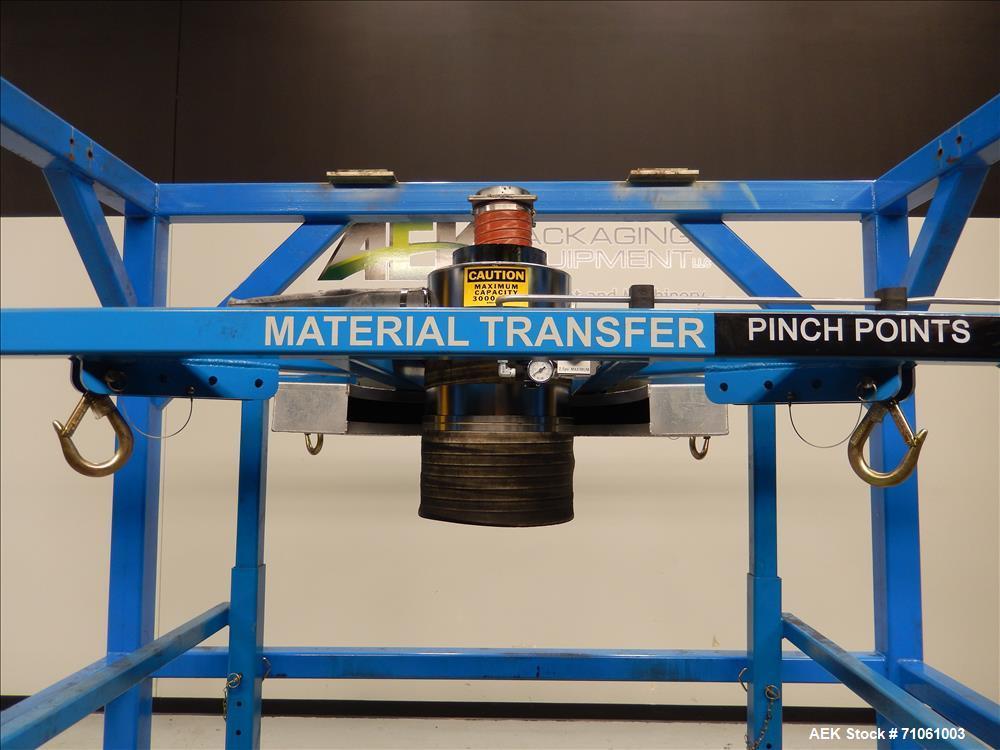 Used- Material Transfer & Storage, Inc Four Post Bulk Bag Supersack Filler