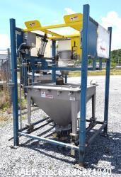 Used- Flexicon BFH-C-X Half Frame. Includes (2) air operated bag holders, (1) Tele-Tube telescoping tube, (1) Salina Vortex ...