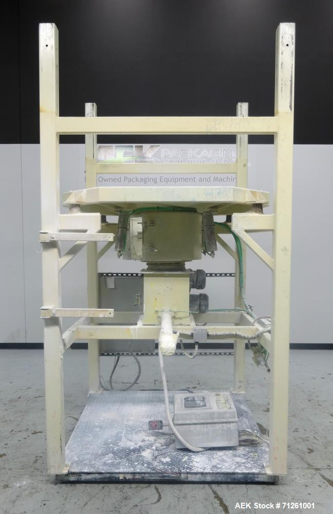 Used- Tech Packaging QuickPak Series 2000 Bulk Bag Discharge System