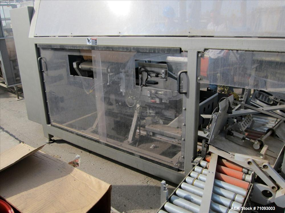 Used-Blueprint Automation Model RPP Bag-In-Box Inserter. Has Robotic pick and place mechanism. (4) Emerson EN-208 servo driv...