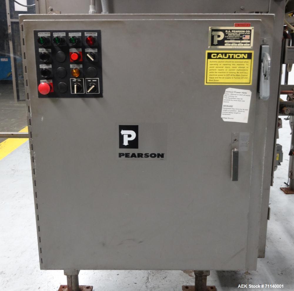 Used- Pearson Model Y1928 Bag-In-Box Inserter