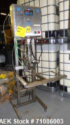 Liqui-Box Corp Model 1000-CIT-W Bag-In-Box Liquid Filler. Is capable of speeds from 3-6 per minute a...