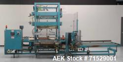 Used- K&R Equipment Model PBI-AT 32 Case Erector And Poly Bag Inserter