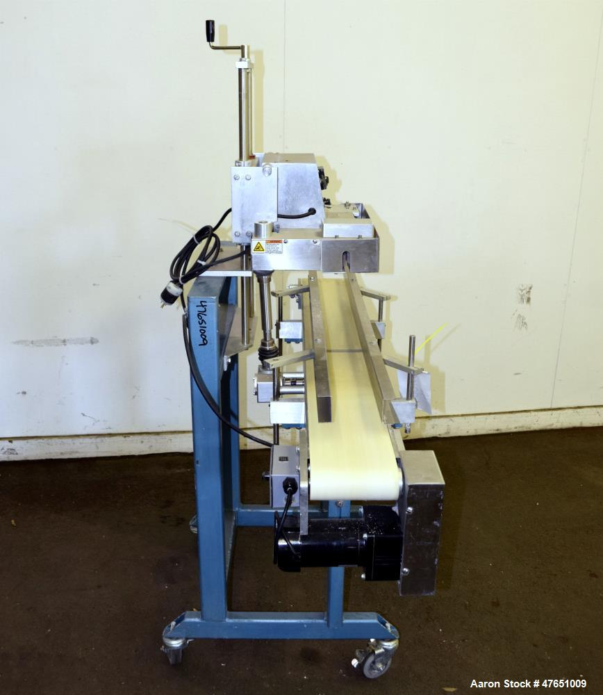 Used- All Packaging Machinery (APM) VCBS-3/8-6X5 Vertical Rotary Band Sealing Sy