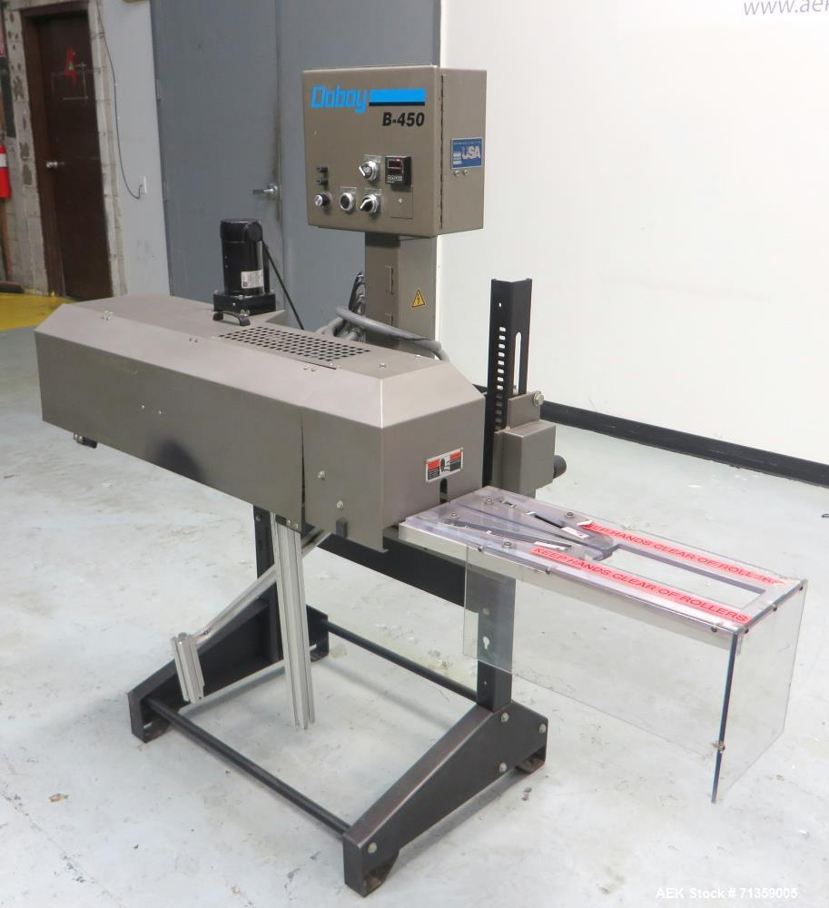 Used- Doboy (Bosch) Model B-450 Continuous Band Sealer