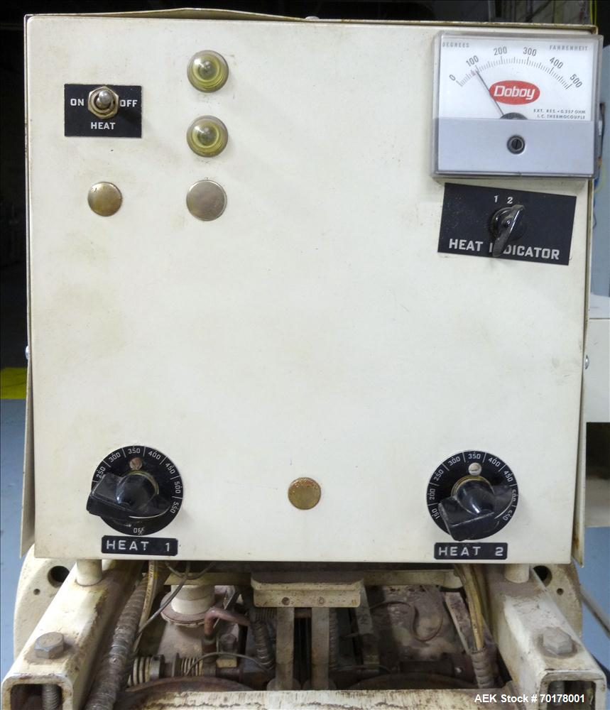 "Used- Doboy Model CBS-CH Continuous Band Sealer. Machine can perform at variable speeds from 300"" - 425"" per minute. The CBS..."