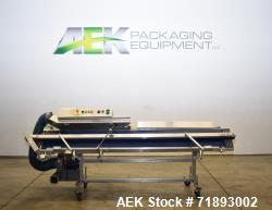 Used- APM Model HCBS USDA Approved 1/4CT Dual 12 x 8 Band Sealer.