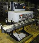 Used-Doboy (Bosch) Model B500 automatic bag sealer rated from 50