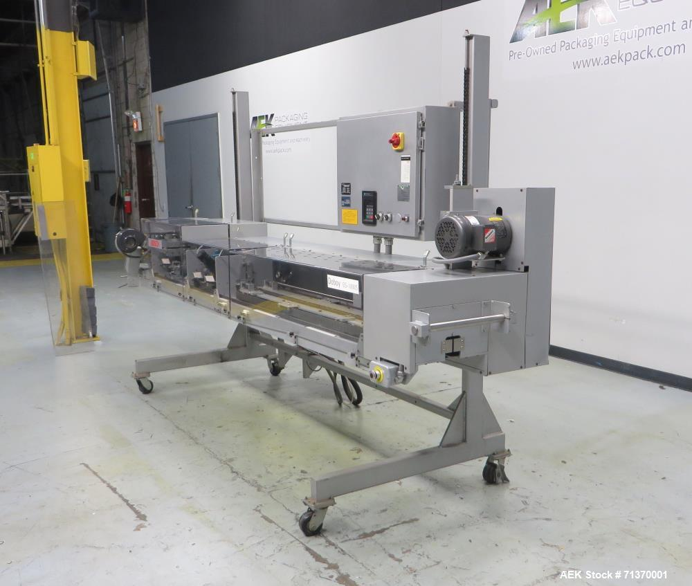 Used- Doboy (Bosch) Model GS1000S Double Fold Left-To-Right Bag Sealer.