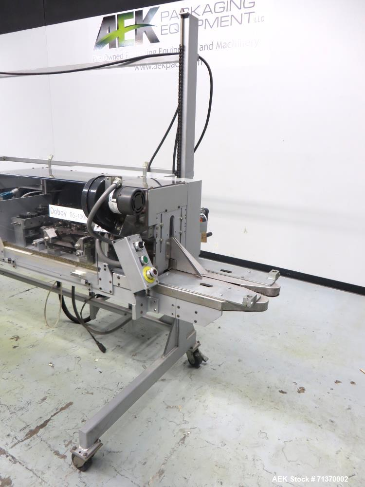Used- Doboy (Bosch) Model GS1000S Double Fold Right-To-Left Bag Sealer