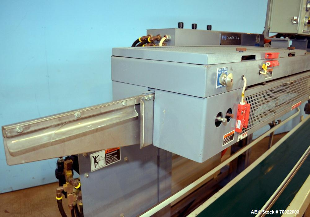 "Used- Altivity Packaging Model 901 Band Sealer / Closer. Designed for bags, approximate 48"" long band length. With horizonta..."