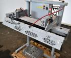 Used- Fischbein Model FB 6000 Pinch Bag Sealer. Can operate at speeds up to 85' per minute depending on bag structure. Can h...