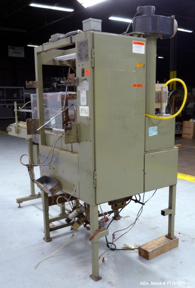 Used- Ampak Model MAX1616 Vertical Form, Fill, & Seal Machine