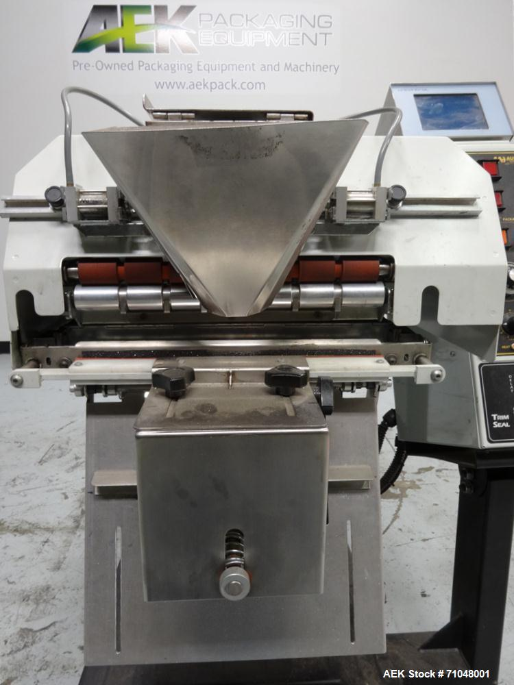 Used- Audion Automation Model Titan 6500 Rollbag Automatic Bagger and Sealer