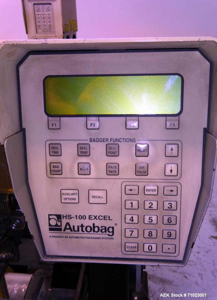 Used- Automated Packaging / Autobag Model 80-E Kit-Veyor Series II Bagger System