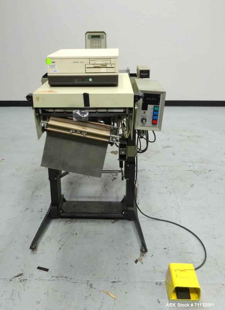 Used- Automated Packaging H-100 Autobagger w/PI-4000 Thermal Printer